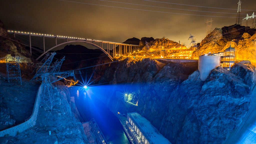 OSK made the Hoover Dam the largest drivable stage of the world