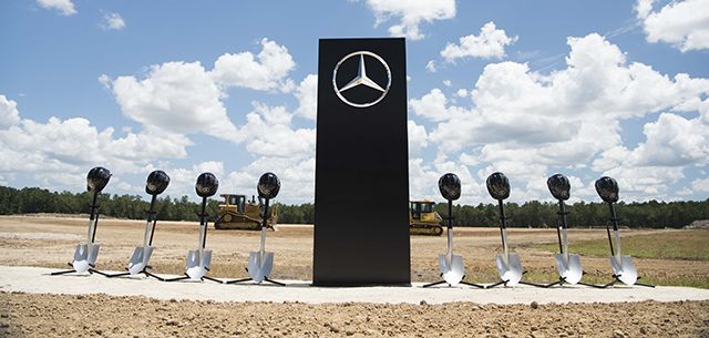 Mercedes-Benz Van Factory Groundbreaking