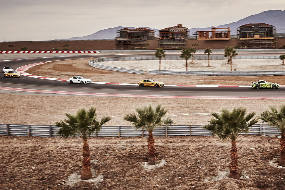 Mercedes-Benz AMG GT Dealer and VIP Track Event