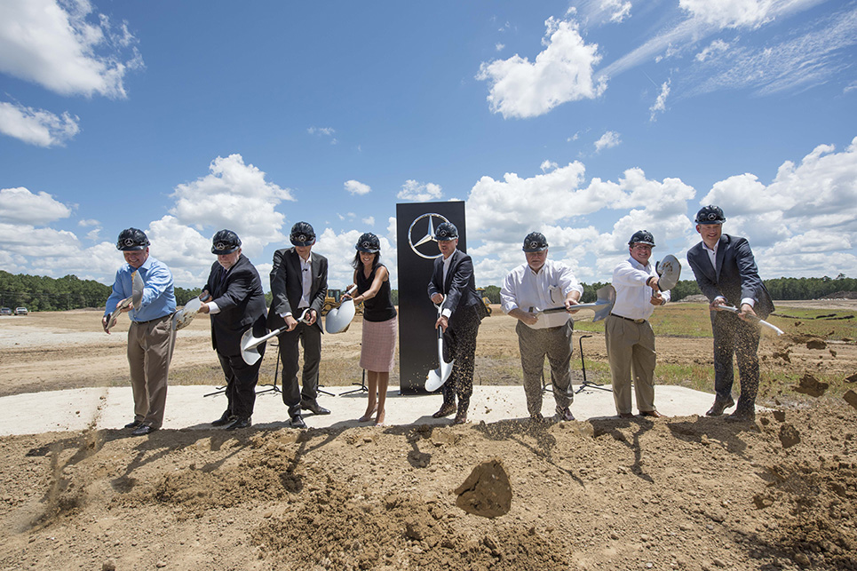 Mercedes-Benz Vans Factory Groundbreaking