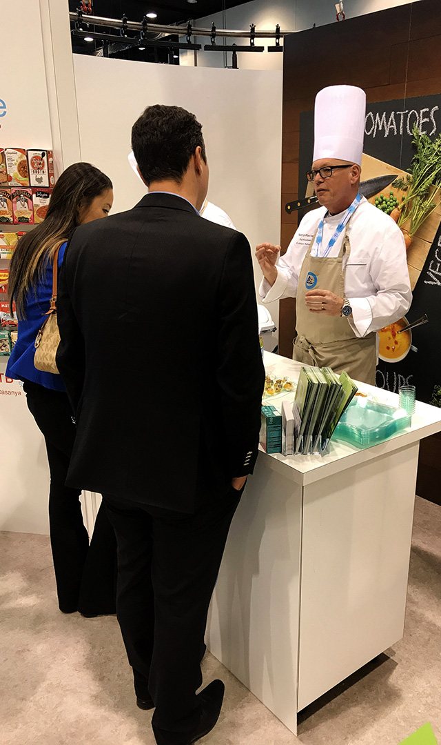 Tetra Pak booth at 2017 Profood Tech