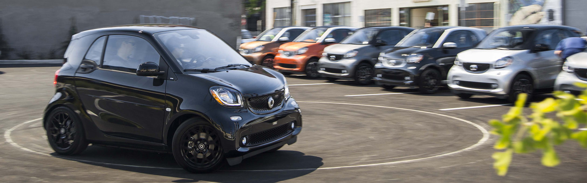 smart fortwo Press Trial Drive in Portland