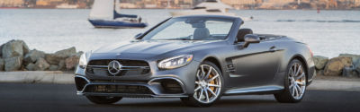 Mercedes-Benz SL Press Drive in San Diego