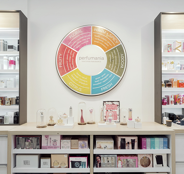 Perfumania Retail Store Concept